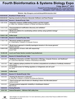 Bioinformatics EXPO 2012 schedule