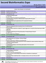Bioinformatics EXPO 2010 schedule