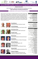 Second RECOMB Satellite Conference on Computational Proteomics, 2010